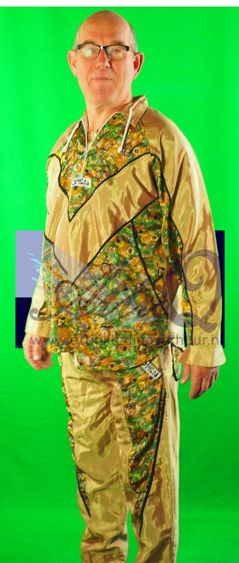 Jaren 70 heren Hippie 7 - gabber kleding huren 1789