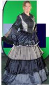 Charles Dickens kostuum huren 1845