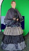 Charles Dickens jurk huren 1845