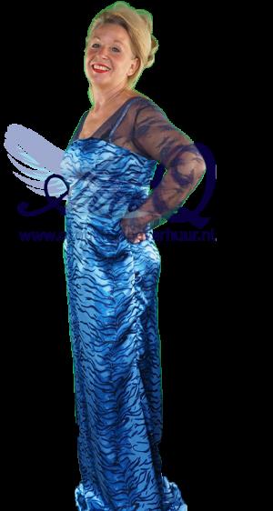 Gala jurk met kant 1135