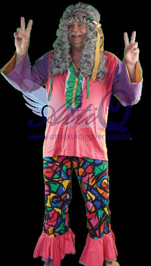 Jaren '60 '70 Jaren 70 hippie kostuum 394