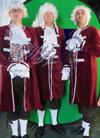Middeleeuws 1696 1700 Lakei Kostuum