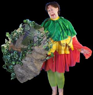 Diversen Bloem kostuum 867