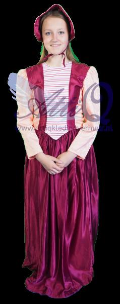 Charles Dickens Kind Kostuum 1874